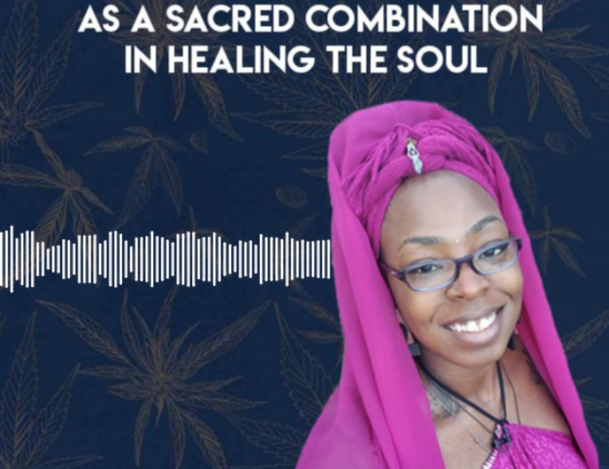 Cannabis and Meditation as a Sacred Combination in Healing the Soul with Senitra Luckett | DANK Discussions hosted by Maynard Breslow | Presented by Calacann Media