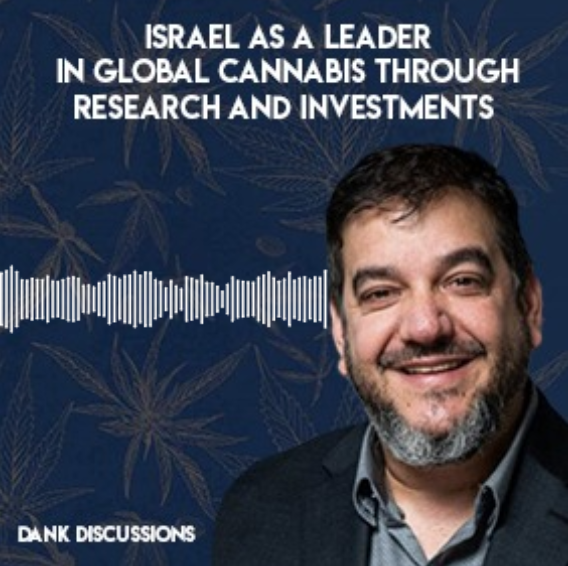 Israel as a Leader in Global Cannabis through Research and Investments with Saul Kaye | DANK Discussions Hosted by Maynard Breslow | Presented by Calacann Media